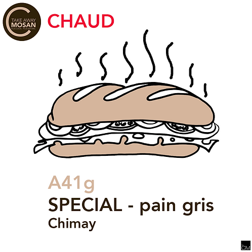 1/2 gris spécial Chimay