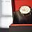 Thumbnail: Montre Jaguar Heritage - cuir brun