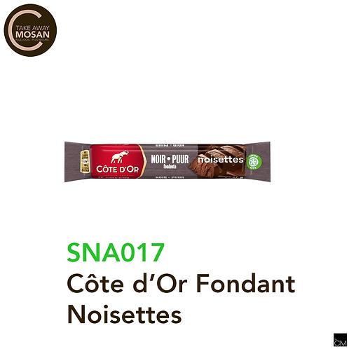 Côte d'Or fondant noisettes