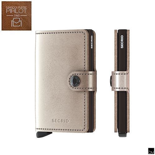 Secrid - Mini Wallet Metallic Champ Brown