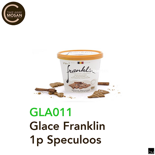 Glace Franklin 100ml Speculoos