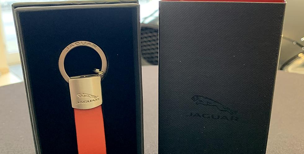 Keyring Jaguar rouge