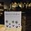 """Thumbnail: E505-Happy Cube cadre """"dites le avec des fleurs"""""""