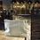 Thumbnail: E913-La Reine des fourmis trousse lin carrés or