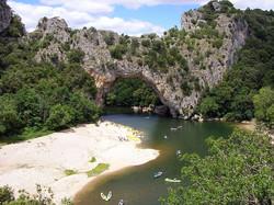 Le Pont d'Arc à 8 km