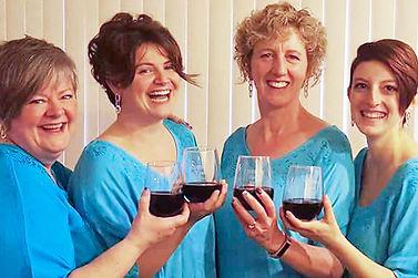 Cheers! Quartet, from Harbor City Music Company Chorus