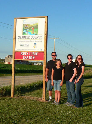 Ozaukee Demonstation Farm Network Farm Redline Dairy