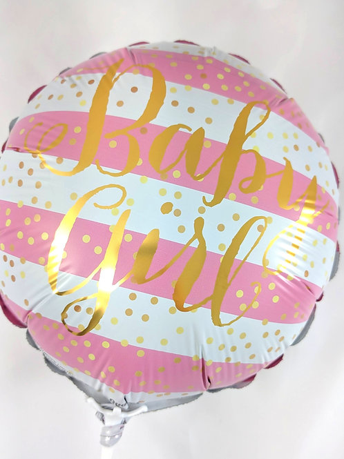 "Baby Girl 9"" Balloon"