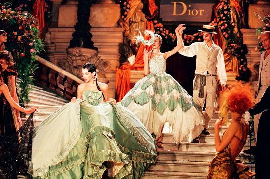 1998 Dior Haute Couture show