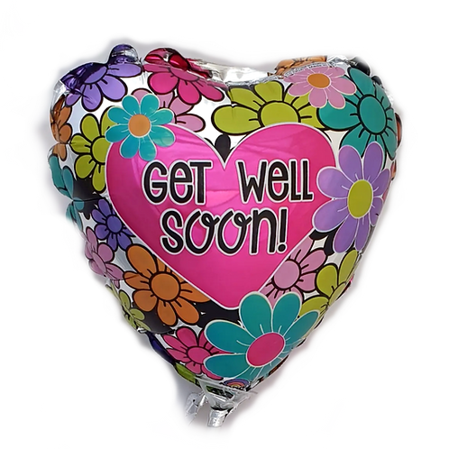 """Get Well 9"""" Balloon"""