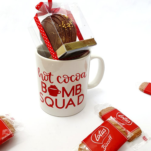 Chocolate Bomb & Mug Set