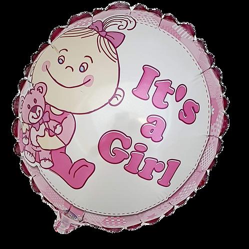 """It's A Girl 9"""" Balloon"""