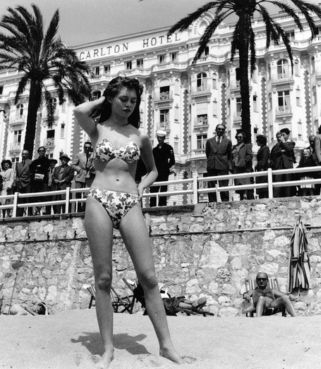 Brigitte Bardot in Cannes