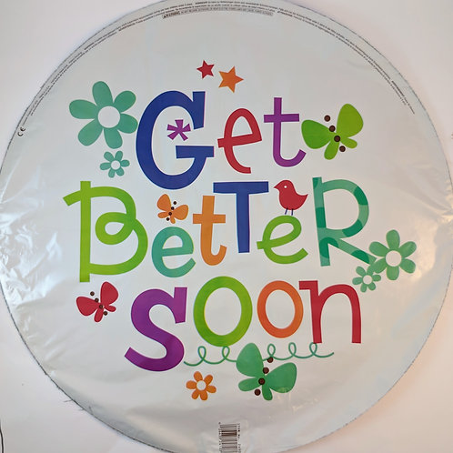 Get Better Soon Balloon - white