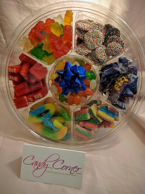 Large Shabbat Candy Wheel - 15 Gifts