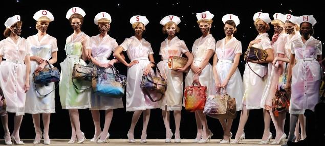 Louis Vuitton Richard Prince show