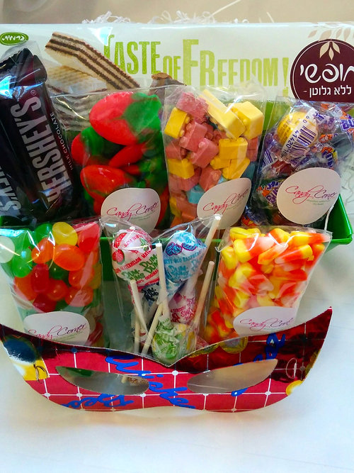 Candy corner israel kosher gift baskets israel gluten free gift gluten free gift negle Images