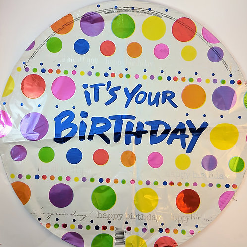 It's Your Birthday Balloon