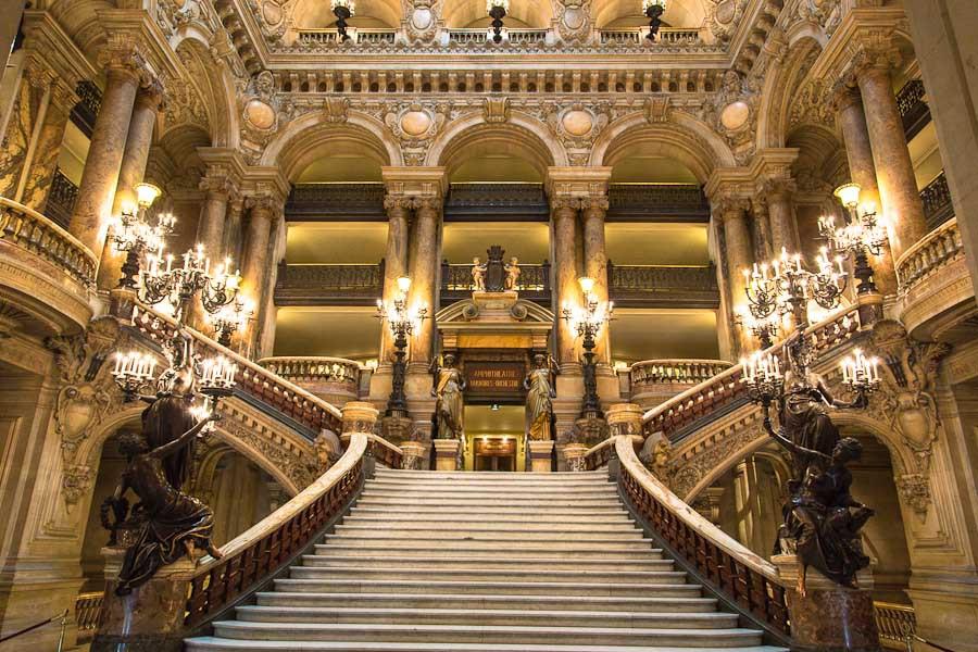 Opera Garnier staircase