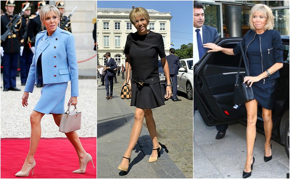 Brigitte Macron legs