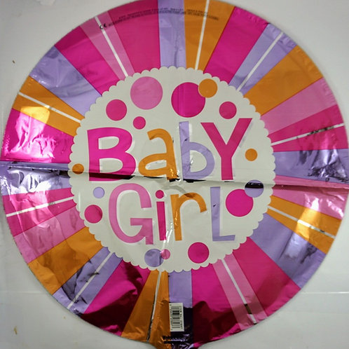 Baby Girl Balloon 1