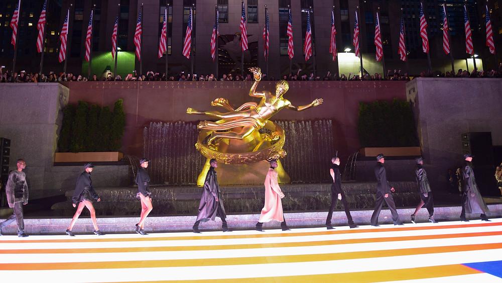 Alexander Wang Spring Summer 2020 at the Rockefeller Center