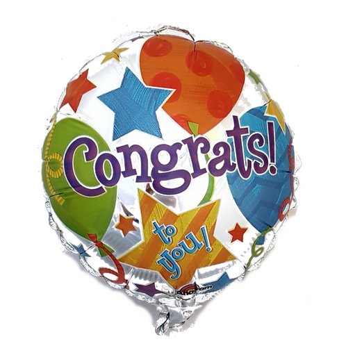 """Congrats 9"""" Balloon"""