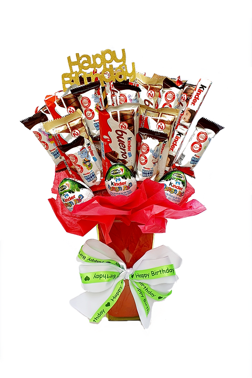 Kinder Chocolate Bouquet