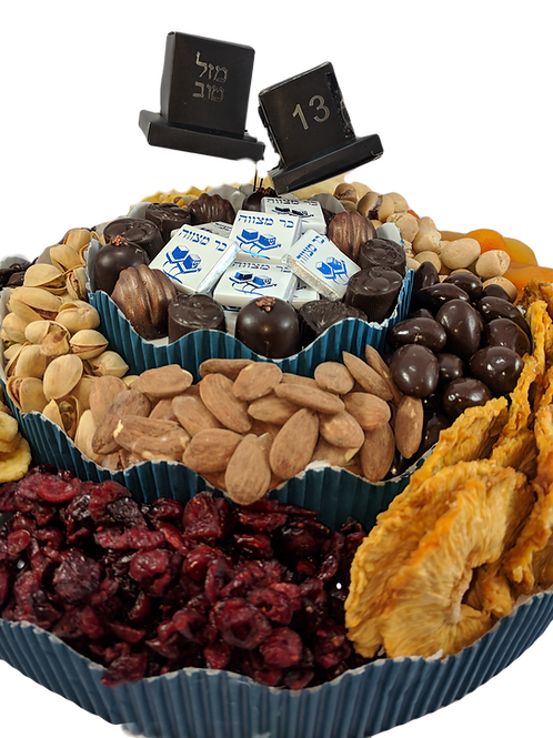 Nuts, Dried Fruit & Chocolate Tower