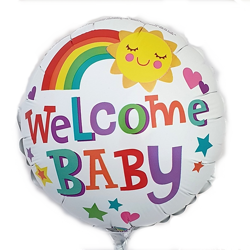 """Welcome Baby 9"""" Balloon"""