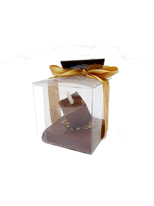 Chocolate Dreidel on base