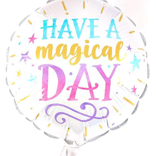 """Magical Day 9"""" Balloon"""