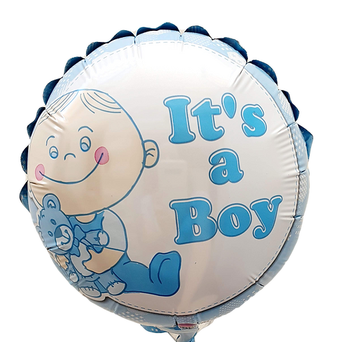 "Baby Boy 9"" Balloon - New"
