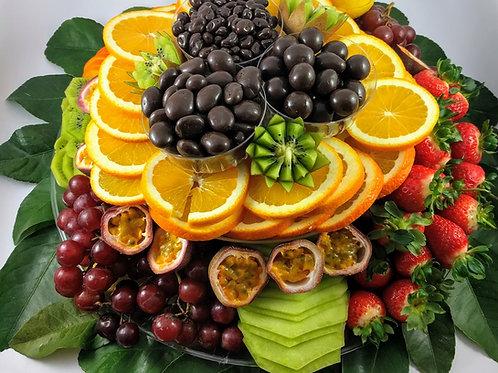 Deluxe Fruit Plus Gourmet Chocolates