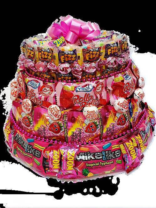 Candy Cake - Pink