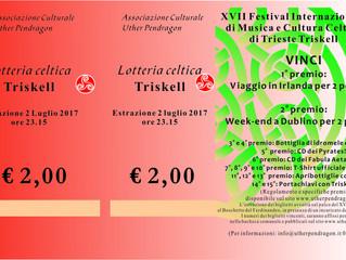 I numeri vincenti della Lotteria Triskell