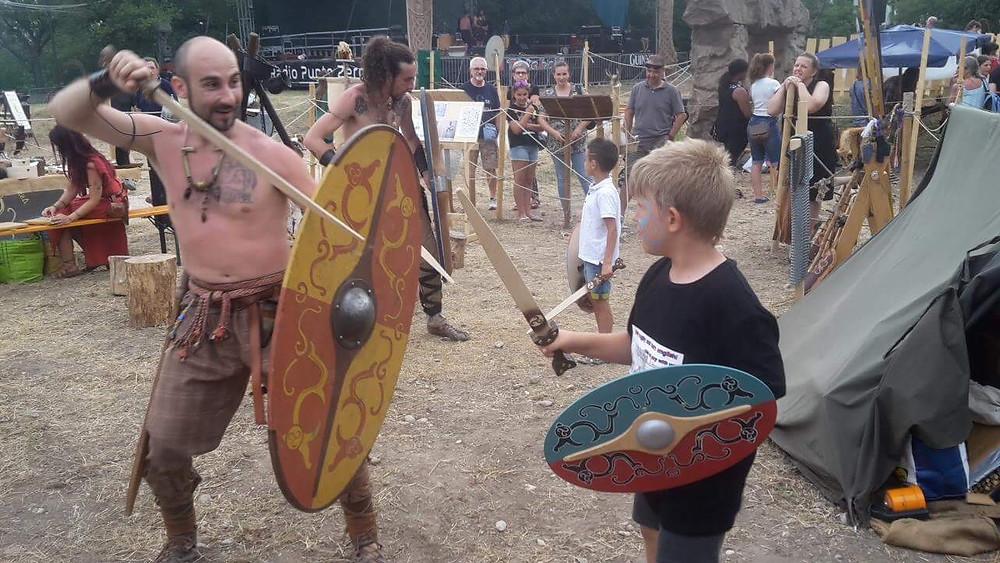 Addestramento celtico con il Clan tre Draghi