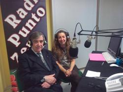 Walter Grandis e io Radio Punto Zero