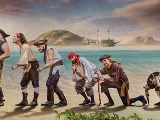 Venerdì tra pirati e melodie dei mari con i Brigada Pirata dall'Italia ed i Pyrates dall'Ola