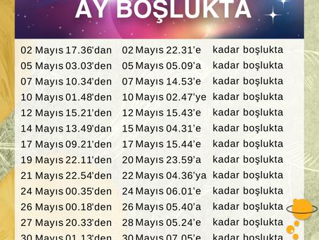 Mayıs 2021 Ay Boşlukta