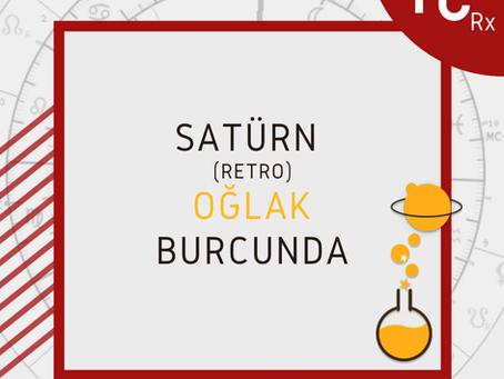 Satürn Oğlakta Retro'suna başlıyor!