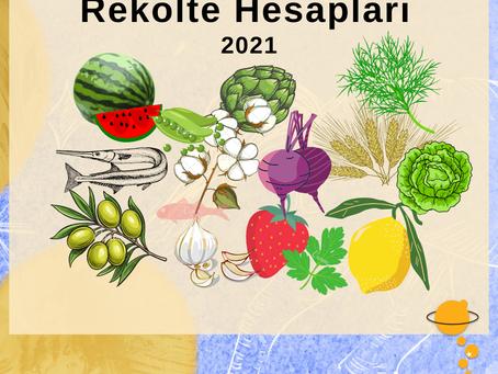 Nisan Ayı Meyve ve Sebzeleri...