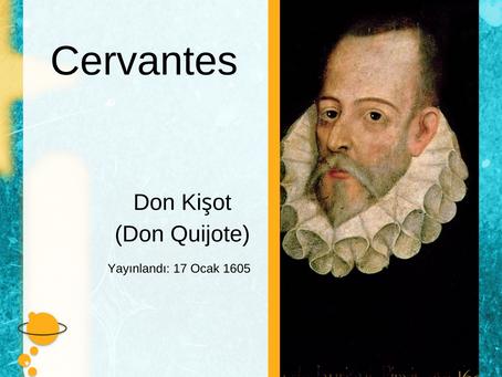 Cervantes'in kurgusal kahramanı, Don Kişot'un bugün Doğum Günü