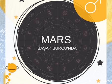 Mars Başak Burcu'nda...