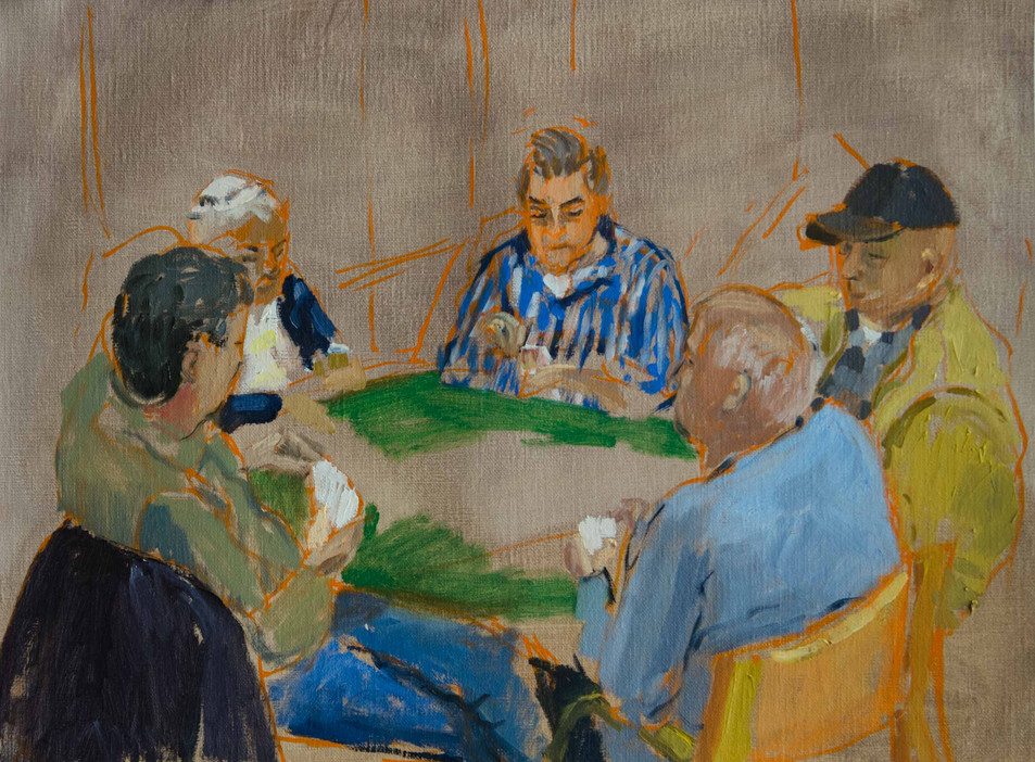 The Card Players 4
