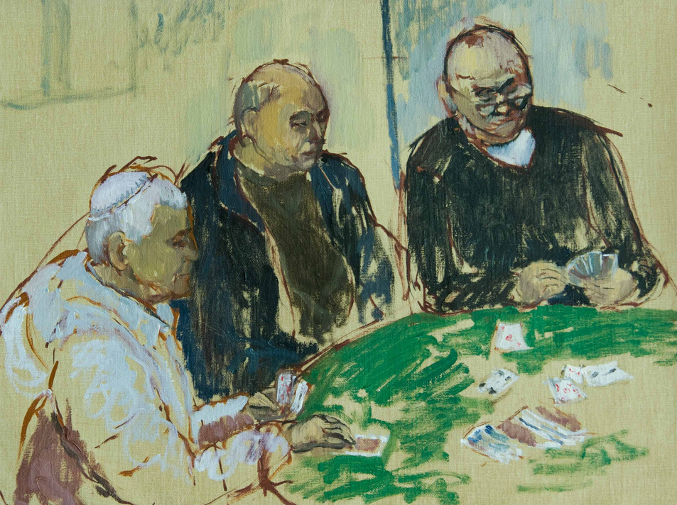 The Card Players 5
