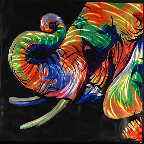 The Colorful Elephant