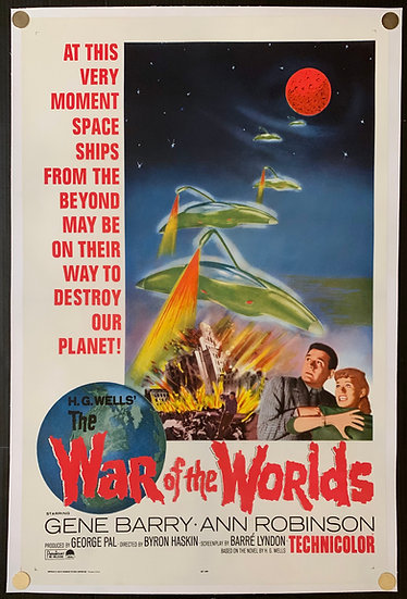 War of the Worlds R1965
