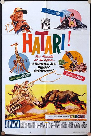 Hatari! 1962 - SOLD