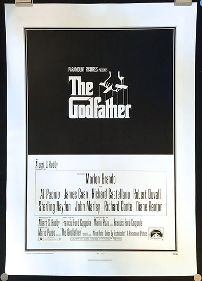 The Godfather 1972 - SOLD